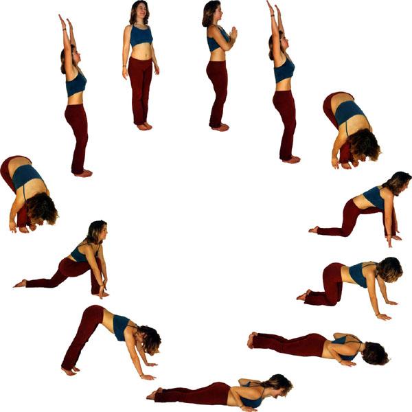 How to do Surya Namaskar? and Surya Namaskar Steps ...