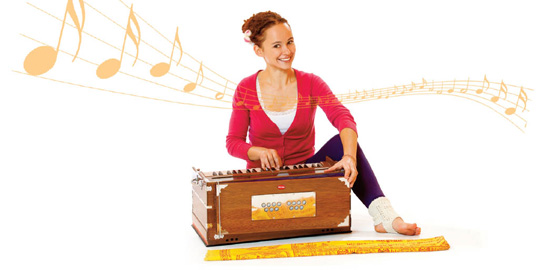Learning Harmonium and Kirtan in classical Indian Style