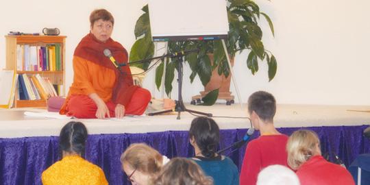 Meditation Retreat with Swami Saradananda