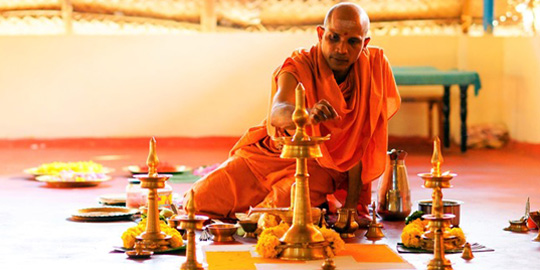 Theme Week: Indian Rituals and Recitations with Swami Nivedanananda